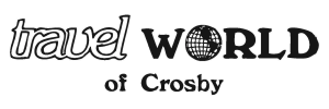 Travel World of Crosby Logo